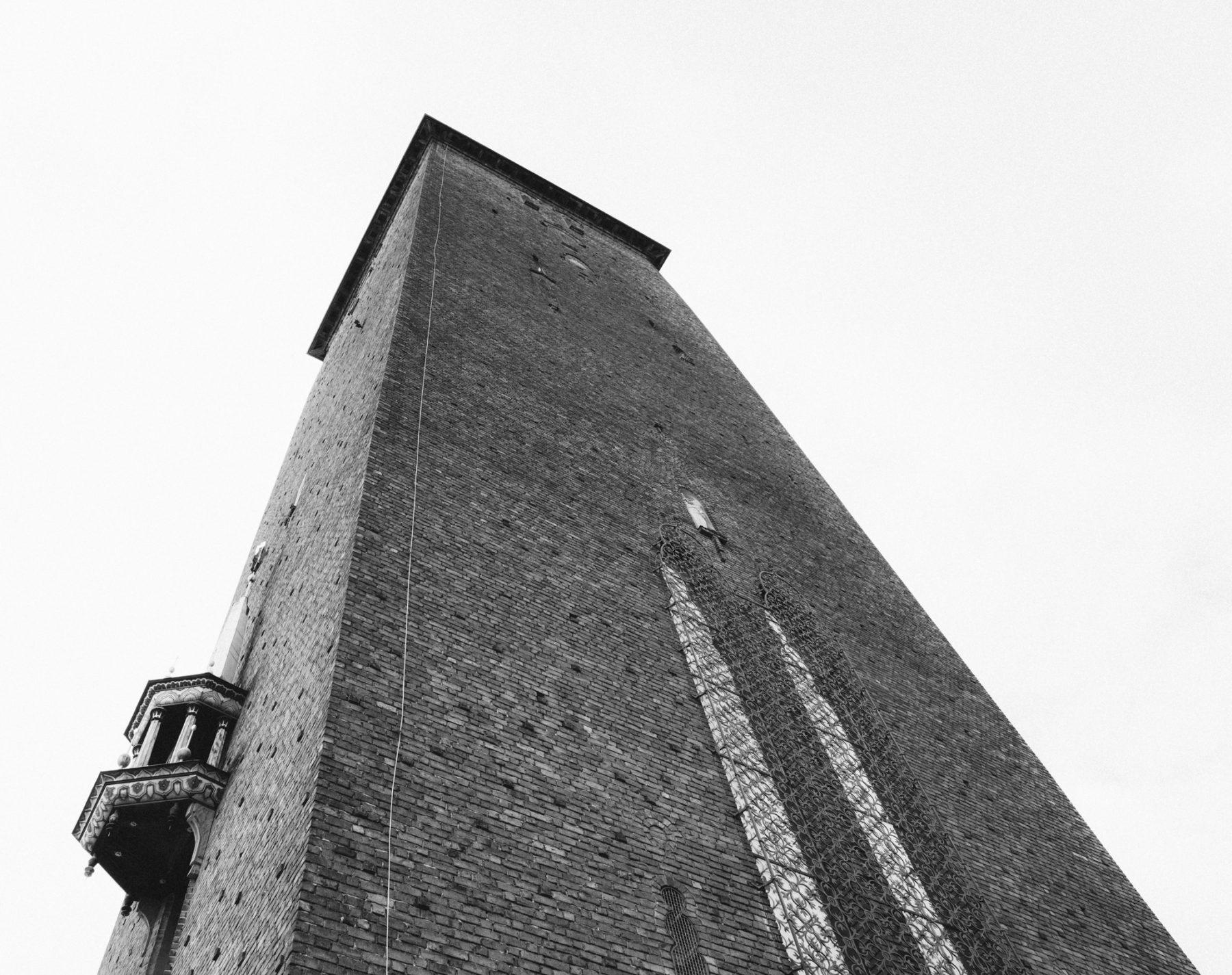Torre del Ayuntamiento de Estocolmo Suecia